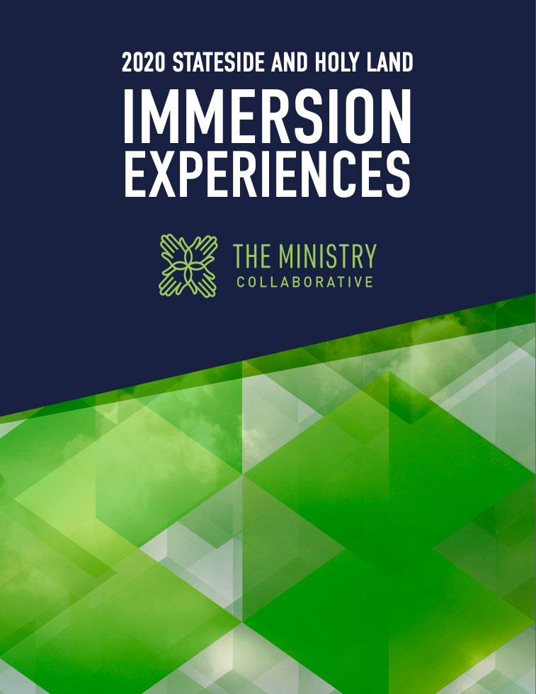 Cover for the 2020 Stateside and Holy Land Immersion Experiences PDF download