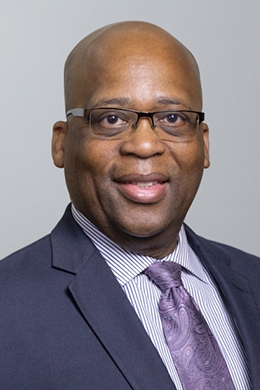 Dr. Reginald Blount headshot
